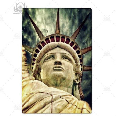 Panneau New York Liberty Enlightening the World | NYC Shop