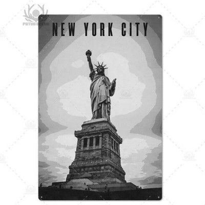 Panneau New York Statue of Liberty | NYC Shop