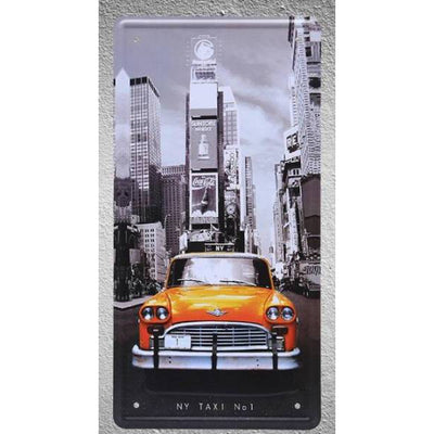 Panneau Taxi Jaune New York | NYC Shop