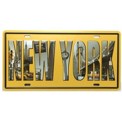 Panneau Welcome to New York | NYC Shop