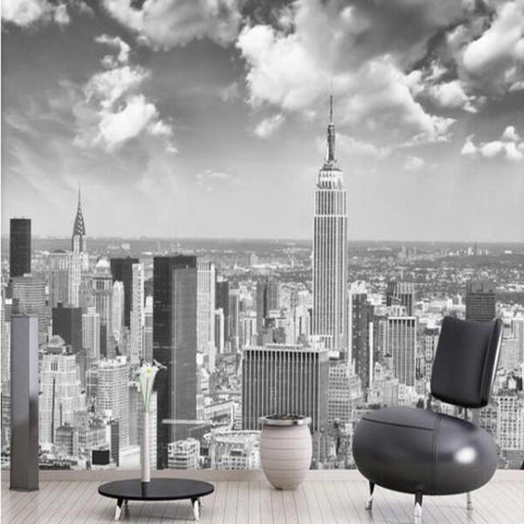 Papier Peint New York Manhattan Noir et Blanc | NYC Shop