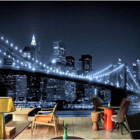 Papier Peint New York Skyline Noir et Blanc | NYC Shop
