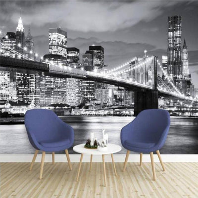Papier Peint New York Noir et Blanc | NYC Shop