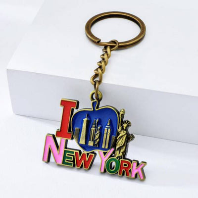 Porte Clé New York Antique Bronze | NYC Shop