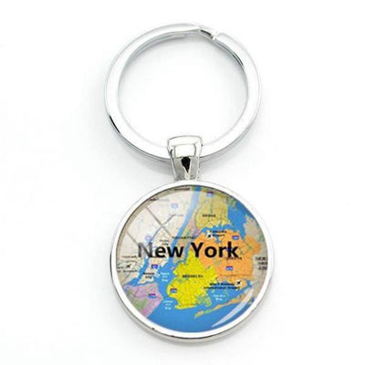 Porte Clé New York Plan Mythique | NYC Shop