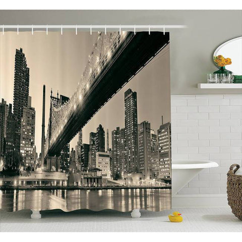 Rideau New York Pont de Queensboro | NYC Shop