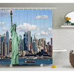 Rideau New York Statue de la Liberté Skyline | NYC Shop