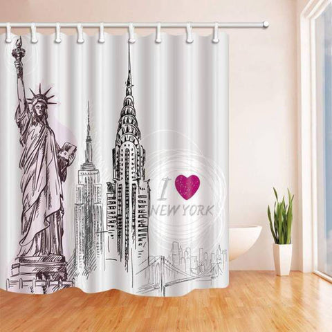 Rideau New York Statue de la Liberté | NYC Shop