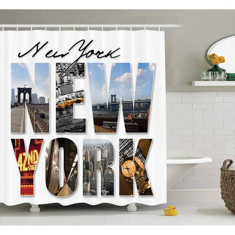 Rideau New York The Big Apple | NYC Shop
