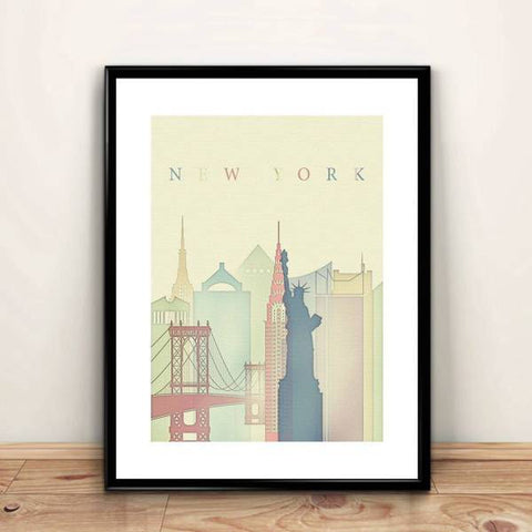 affiche new york design