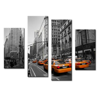 Tableau Taxi Jaune New York | NYC Shop