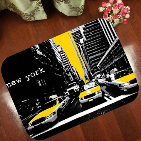Tapis New York Taxi Jaune | NYC Shop
