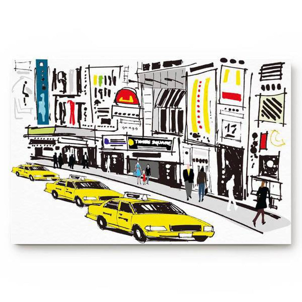 Tapis Taxi New York | NYC Shop