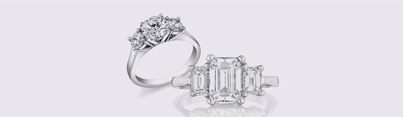 Engagement Rings - Three Stone