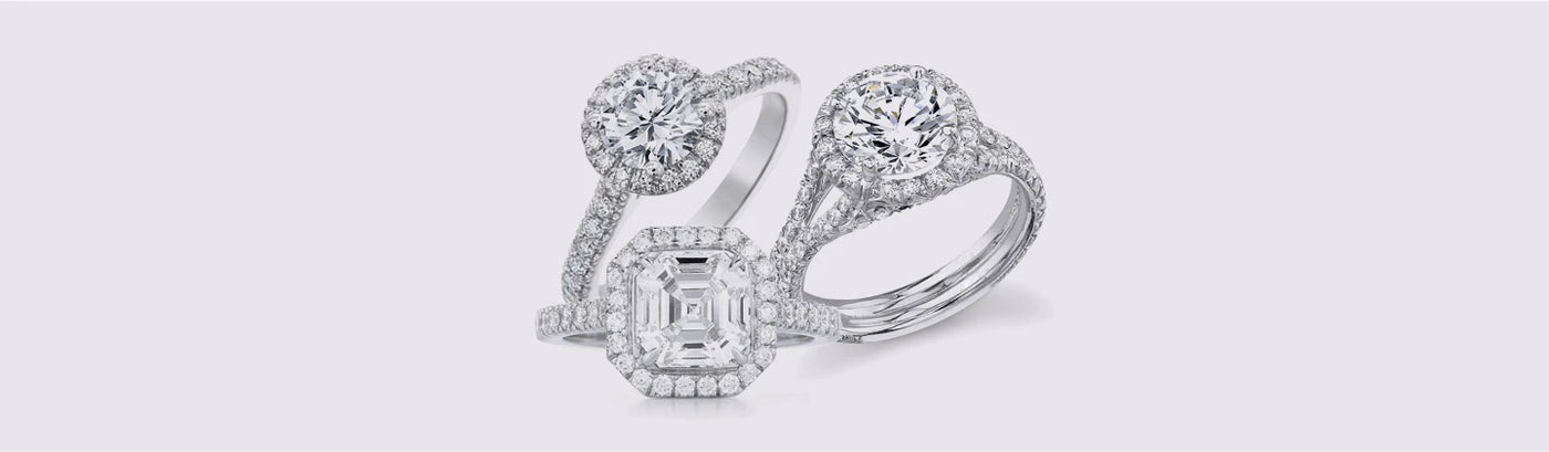 Engagement Rings - Halo