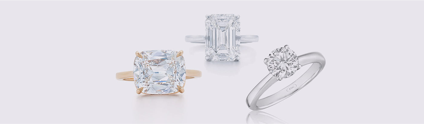 Engagement Rings - Solitaire