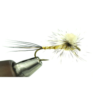 Harrop's CDC Paraspinner - Brown Drake