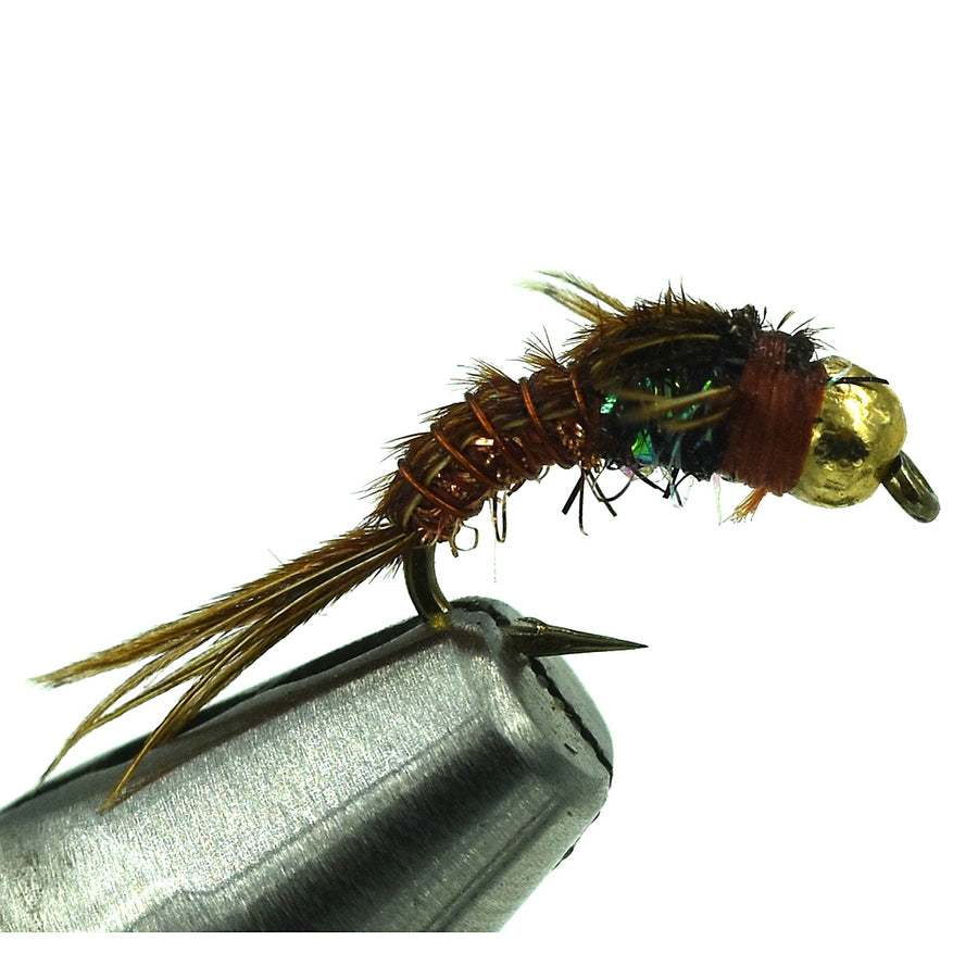 Bead Head Crystal Pheasant Tail - PMD