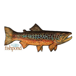 Fishpond Local Sticker