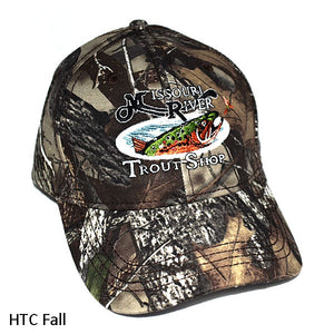 Structured Camo Logo Hat