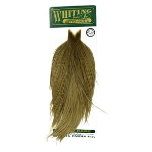 Whiting Hebert Miner Dry Fly Hackle Cape - Medium Grey Dun