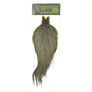 Whiting High & Dry Hackle Cape  - Grizzly