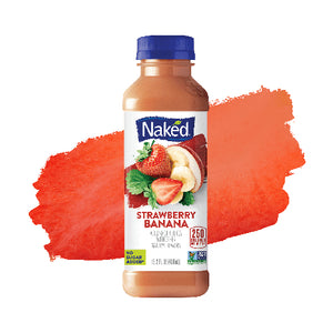 Naked Fruit Smoothie - Strawberry Banana