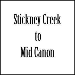 Shuttle Stickney Creek to Mid Canon