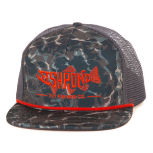 Fishpond Pescado Trucker Hat - Riverbed Camo