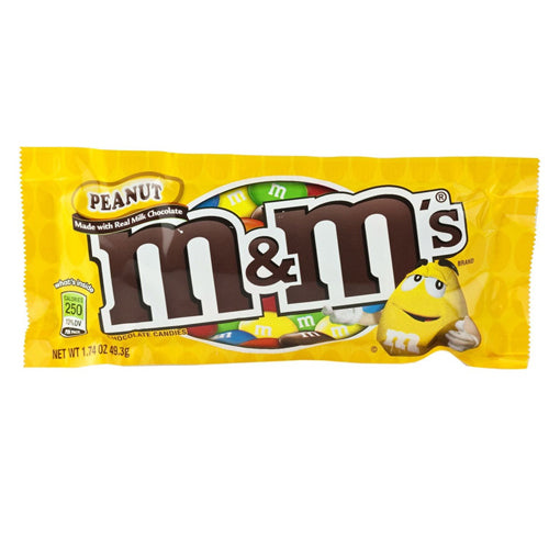 M&M's Peanut Chocolate Candy