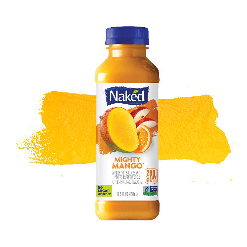 Naked Fruit Smoothie - Mighty Mango