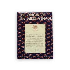The Origin of the Buddha Image - Signed by His Holiness the 14th Dalai Lama