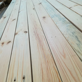Timber 100% organic, natural Irish pine, cut to size, - clikBUILD