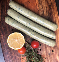 Sausages Spinach & Pine Nut Chicken - 500g