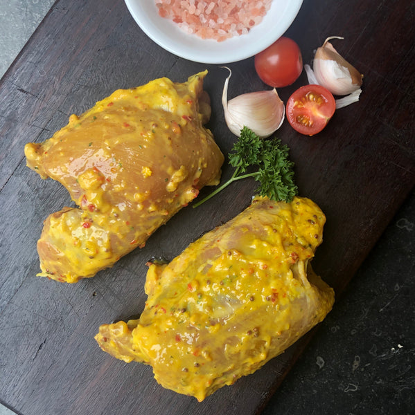 Marinated Honey Mustard Free Range Chicken Steaks - 500g