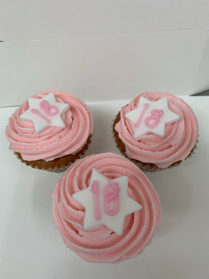 Birthday Cup Cake -  Cakes & Pastries