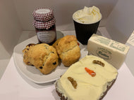 Carrot Cake & Scone Treat- Package -  Specials