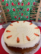 Family Carrot cake -10 slices-  Large Cakes