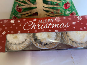 Box 6 Mince Pies-  Cakes & Pastries (V)
