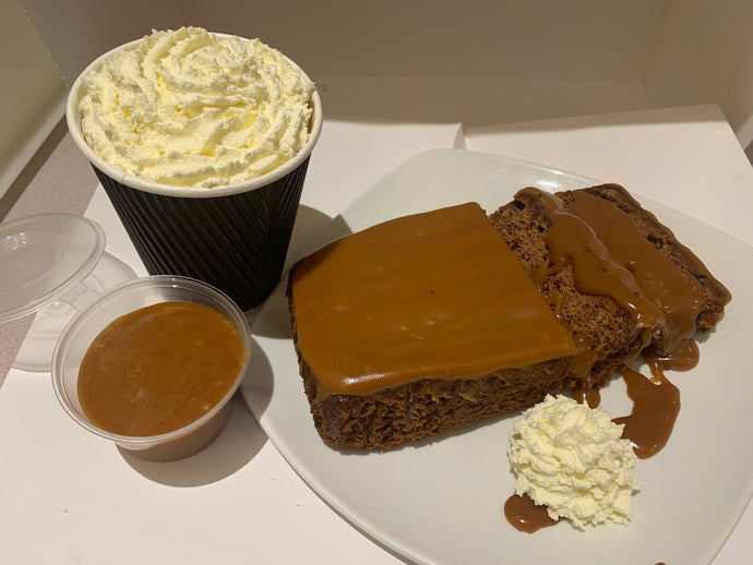 Sticky Toffee and Whipped Cream-  Specials
