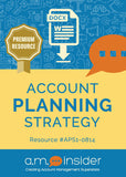 Account Planning Strategy template