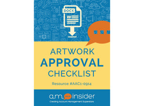 Artwork Approval Checklist
