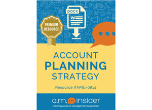 Account Planning Strategy