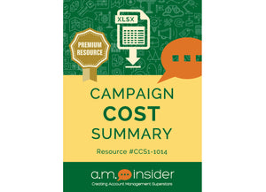 Campaign Cost Summary