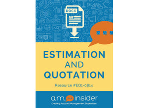 Estimation and Quotation