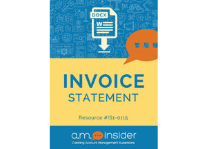 Invoice Statement