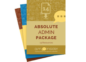Absolute Admin Package (14 Resources)