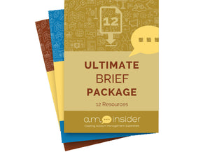 Ultimate Brief Package (12 Resources)