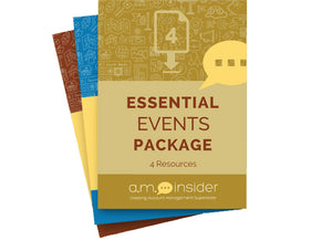 Essential Events Package (4 Resources)