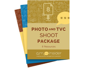 Photo and TVC Shoot Package (8 Resources)